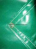 Het pvc dubbel-Met een laag bedekte Geteerde zeildoek van uitstekende kwaliteit