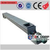 Transportador de tornillo resistente a la corrosión del acero inoxidable