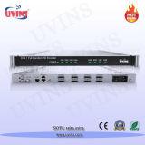 8개의 HDMI 채널 통신로 입력과 Asi 1개의 입력, MPEG-4 인코더