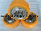 Le polyuréthane industriel résistant de vieillissement d'unité centrale de bisque roule l'enduit avec le faisceau de fer