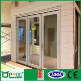 Pliage en aluminium en verre de double vitrage de qualité/porte Bifold/porte de Bifolding avec AS/NZS2047