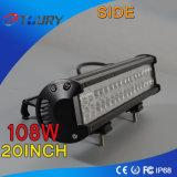 108W LEDの運転ヘッド作業車のライトバーのオフロード4dwクリー語
