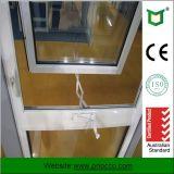 Ventana inestable de aluminio con el vidrio doble