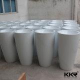 Lavabo indipendente di superficie solido della stanza da bagno di Kkr