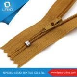 Chiusura lampo di nylon invisibile 3# per l'indumento sulla vendita