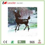 Garten-Metallschattenbild-Stange-Rotwild-Schatten-Figürchen für Weihnachtsdekoration