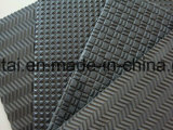파 또는 앉은뱅이 또는 뼈 또는 다이아몬드 패턴에 의하여 돋을새김되는 EVA 거품