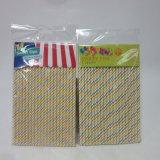 bande di carta del partito delle cannucce delle paglie 20PCS che bevono la paglia della decorazione