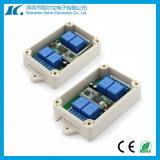 4-Channel que aprende o interruptor de controle remoto sem fio de Univesal RF do código
