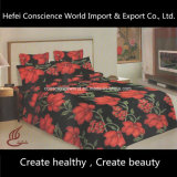 100% poliéster Pigment Printed Bed Sheet 2PCS Bedding Set