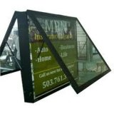 Station de bus ou hôtel Acrylic Slim Lighting Box
