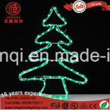 Indicatore luminoso decorativo dell'albero di Natale di motivo della corda della via della stella IP65 del LED per la decorazione chiara esterna