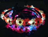 La venda del festival del LED que contellea florece la decoración de las bodas