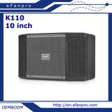 Caixa audio do altofalante de um karaoke de 10 polegadas PRO (K110 - TACTO)