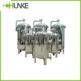 Equipamento líquido industrial da carcaça da filtragem da água do filtro de saco do PE