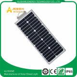 El alto brillo IP67 impermeabiliza luces de calle solares de 15W LED