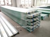 A fibra de vidro ondulada do painel de FRP/telhadura transparente do vidro de fibra apainela W171024
