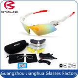 De verwisselbare Lens die van PC komt met Toebehoren voor de Bescherming van de Ogen Eyewear rennen