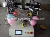 2つのカラー自動気球スクリーンの印字機