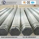 Tubo de acero galvanizado rectangular cuadrado redondo de la INMERSIÓN caliente