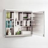 Modern Corner Stainless Steel Furniture Banheiro Big Storage Cabinet (7068)