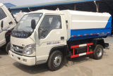 Small Forland 3cbm Garbage Trash Collector Truck clouded