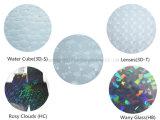 Película olográfica para los productos de la impresión de Digitaces