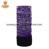 Bandana de múltiples funciones del paño grueso y suave polar del fabricante de la bufanda de China