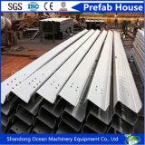 Purlin de aço da seção pré-fabricada Z para o sistema de telhadura de construção de aço clara