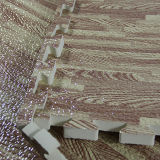 Stuoia di protezione del pavimento della gomma piuma di puzzle del puzzle di alta qualità, stuoie coperte di ginnastica