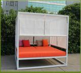 사랑 가구를 위한 H 옥외 등나무 또는 고리 버들 세공 진짜 사람들 Lounger 비치용 의자