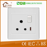 5V 2.1A Single USB UK Wall Socket