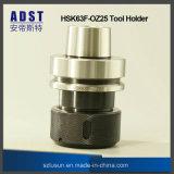 Support d'outil de mandrin de bague Hsk63f-Oz25 pour la machine de commande numérique par ordinateur