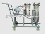 Fuente comercial de China del cárter del filtro de bolso del acero inoxidable