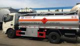6000 L carro del transporte del petróleo 7 toneladas de gasolina del depósito del dispensador de precio del carro