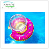 Sostenedor de taza inflable del juguete del regalo promocional para la piscina