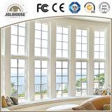 Aluminiumörtlich festgelegtes Fenster des profil-UPVC/Aluminum