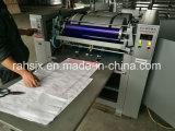 4 colori pp che lavorano a maglia sacchetto per insaccare la stampatrice