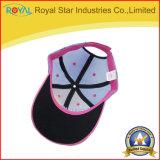 O Snapback do bordado de 6 painéis ostenta o boné de beisebol do tampão do engranzamento dos chapéus