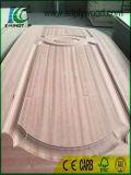 チークまたはクルミの皮が付いているドアの/Veneerの木製のドアか内部ドア