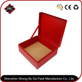 Boîte d'emballage en papier bleue personnalisée pour bijoux