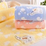Baumwollterry-Kind-Tücher 100% mit Stickerei-Elefanten