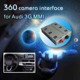 Audi 3G MmiシステムLvds RGBシグナル入力鋳造物スクリーンのための背面図及び360パノラマインターフェイス