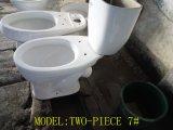 陶磁器熱いロシアは二つの部分から成ったWCの洗面所をX引っ掛ける