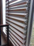 Persiana fija de aluminio y ventana fija de persiana