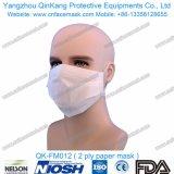 Maschera di protezione a gettare del respiratore di alta qualità con Earloop 3ply Qk-FM007 non tessuto