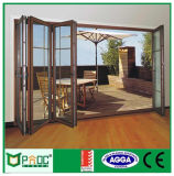 Puerta plegable de la aleación de aluminio Bi con As2047as2208 Certificado Powder Coated