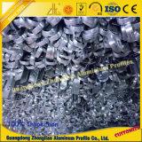 Perfil de alumínio industrial do OEM com processamento profundo do CNC