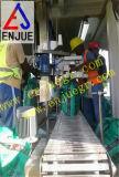 Tipo insaccamento del contenitore e strumentazione di pesatura sul bacino