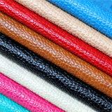 Cuoio di pattini materiale di modo dell'unità di elaborazione con grano di pietra lucido classico